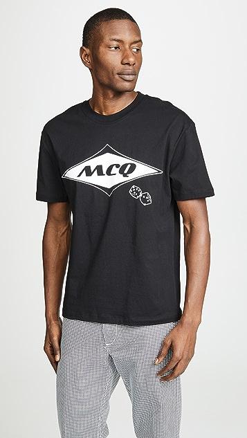McQ - Alexander McQueen Dropped Shoulder Tee