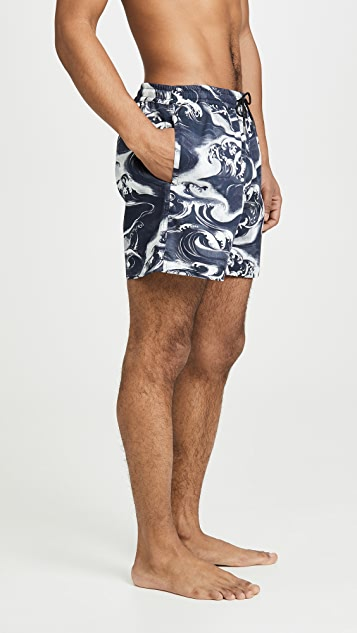 McQ - Alexander McQueen Holiday Shorts 01