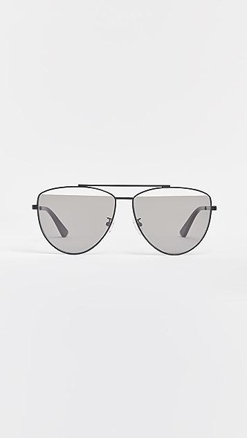 McQ - Alexander McQueen Iconic Pilot Frame Sunglasses