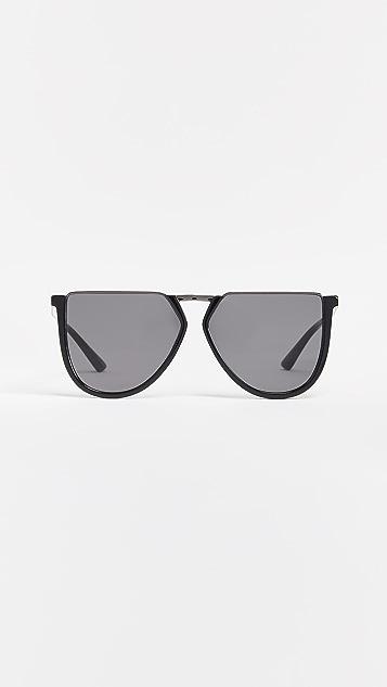 McQ - Alexander McQueen Солнцезащитные очки Iconic в оригинальной ацетатной оправе