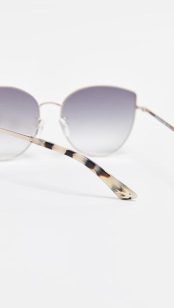 McQ - Alexander McQueen Iconic Feminie Cat Eye Sunglasses