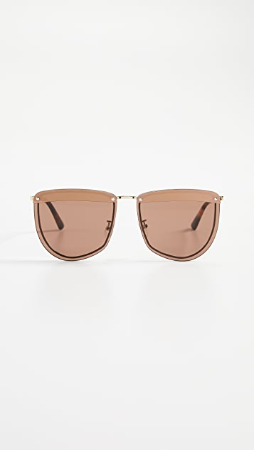McQ - Alexander McQueen Cat Eye Sunglasses