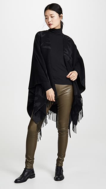 McQ - Alexander McQueen Cut Up Swallow Poncho
