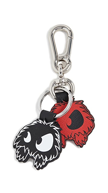McQ - Alexander McQueen Monster Key Rings