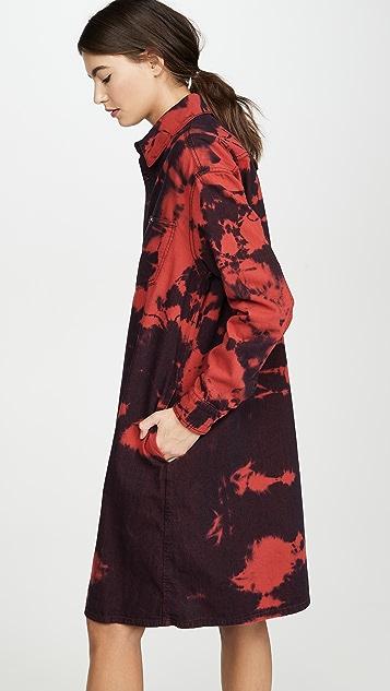 McQ - Alexander McQueen Tatsuko 衬衣连衣裙