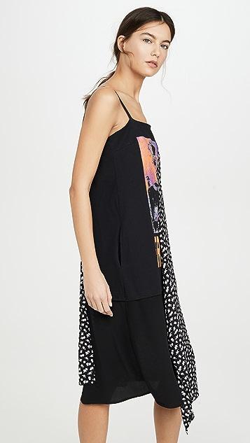 McQ - Alexander McQueen Платье с драпировкой и ремешком