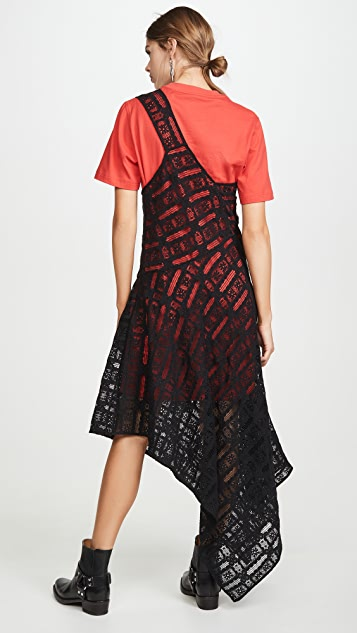 McQ - Alexander McQueen Платье Giri Cut