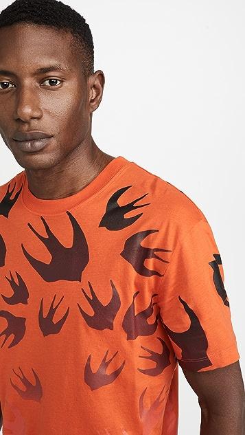 McQ - Alexander McQueen Dropped Shoulder T-Shirt