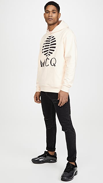 McQ - Alexander McQueen Pullover Logo Hoodie