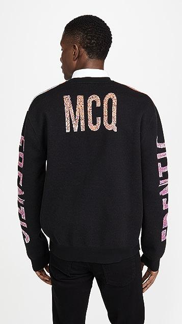 McQ - Alexander McQueen Frentic Jacquard Knit Sweater