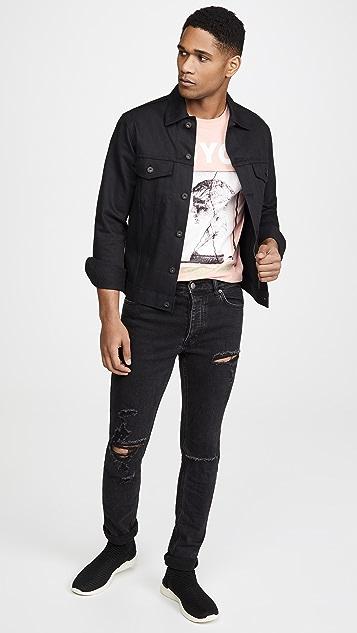 McQ - Alexander McQueen Dropped Shoulder Printed Tee Shirt