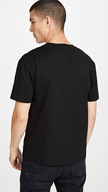 McQ - Alexander McQueen Short Sleeve Dropped Shoulder Logo Tee