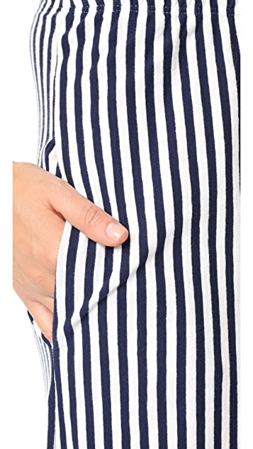 MDS Stripes Pia Palazzo Pants