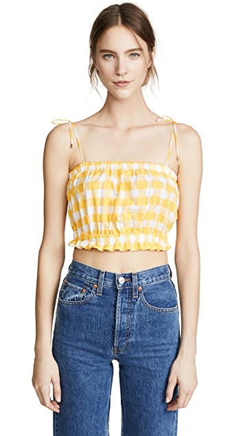 MDS Stripes Cropped Cami