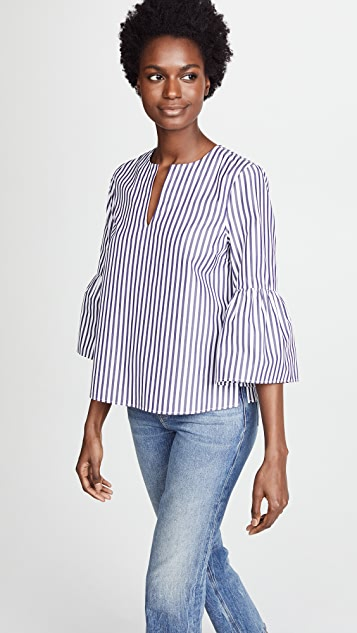 MDS Stripes Butterfly Top