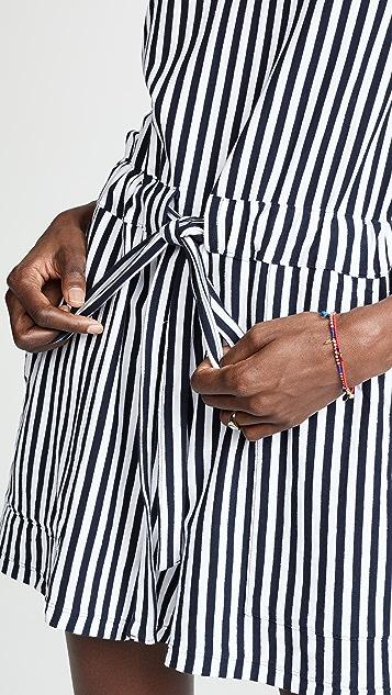 MDS Stripes Amanda Romper