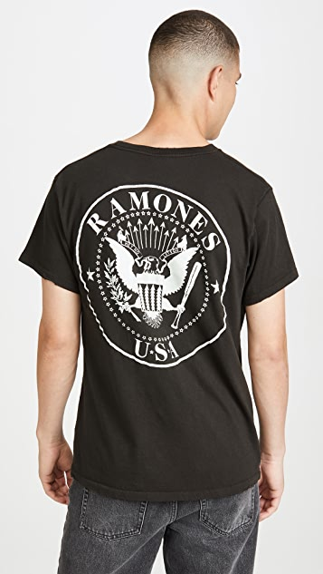 Madeworn Short Sleeve Ramones T-Shirt