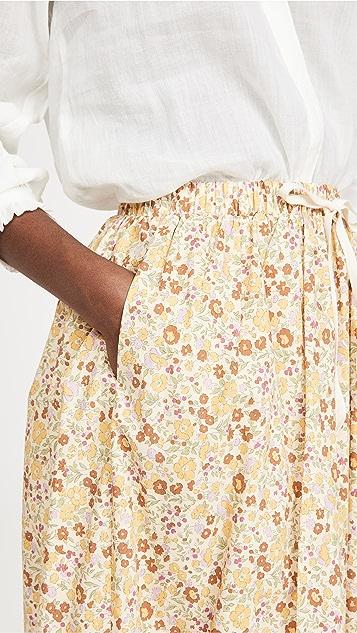 Meadows 花朵半身裙