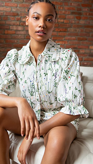 Meadows Dahlia Shirt