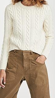 Meadows Cropped Mayflower Sweater
