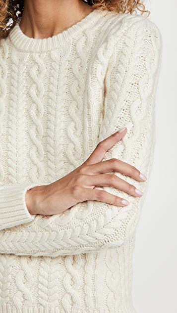 Meadows Cropped Mayflower Sweater