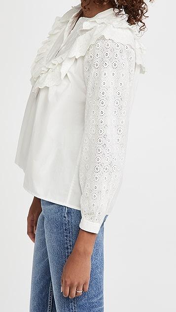 Meadows Poppy 衬衣