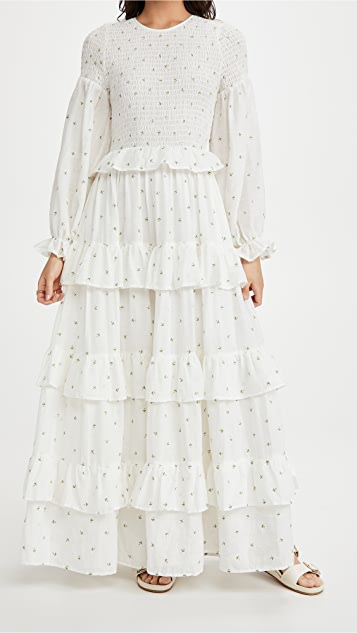 Meadows Rosa 长连衣裙
