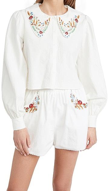 Meadows Foxglove 衬衫