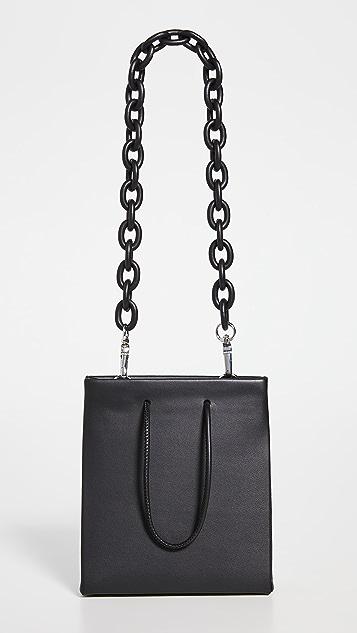Medea Medea Short Leather Chain Bag
