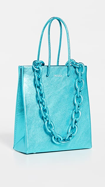 Medea Medea Short Leather Chain Bag