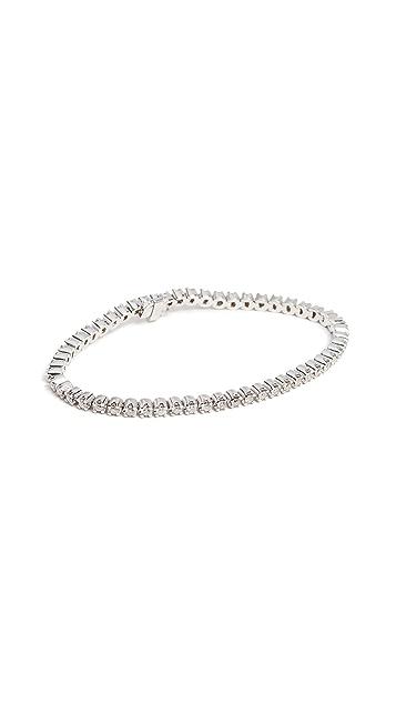 Meira T 14k Gold Diamond Tennis Bracelet