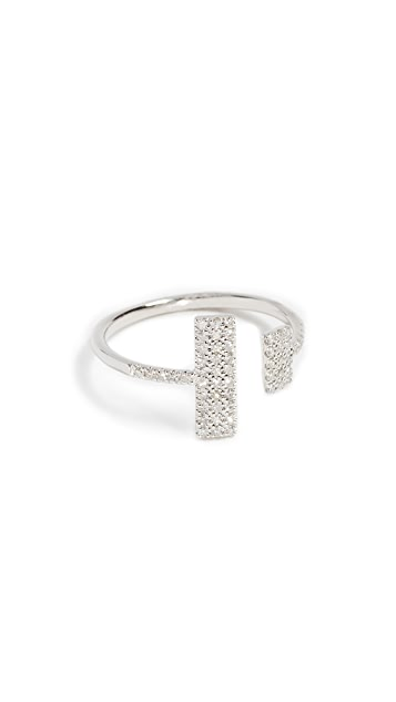 Meira T 14k Gold Diamond Open Ring