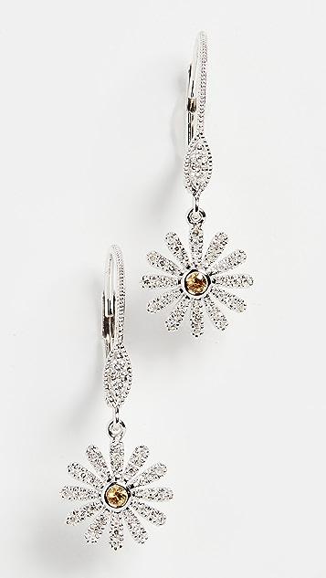 Meira T 婆罗双树花朵耳环