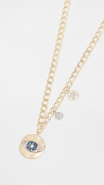 Meira T Evil Eye Necklace