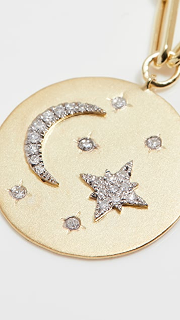 Meira T Moon and Starburst Pendant