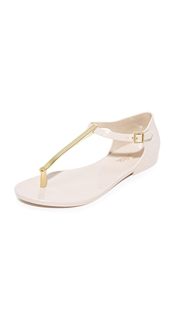 Melissa Honey Chrome Sandals ...