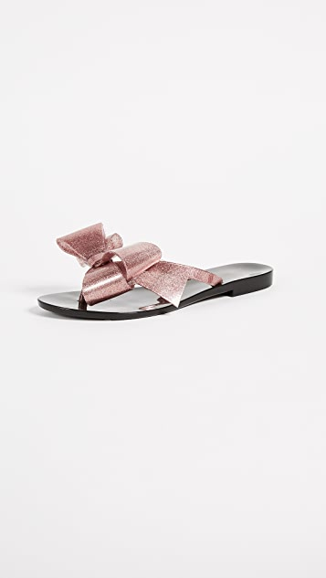 Melissa Harmonic Bow Thong Sandals