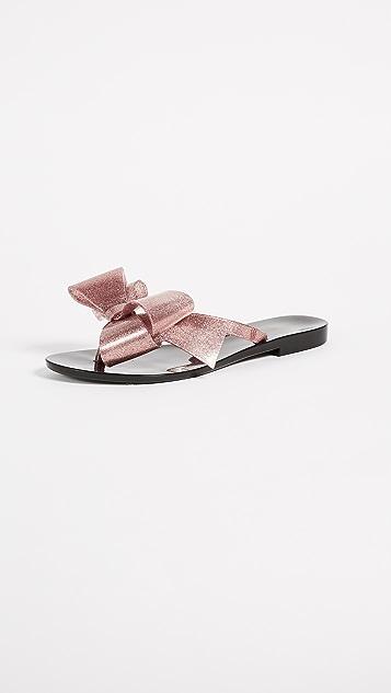 aace27eabf7f56 Melissa Harmonic Bow Thong Sandals