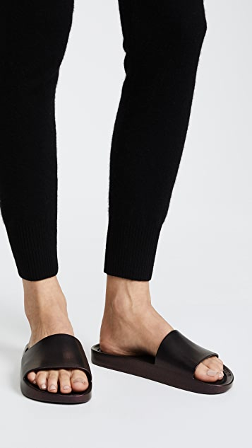 Melissa Beach Slide Shine Sandals