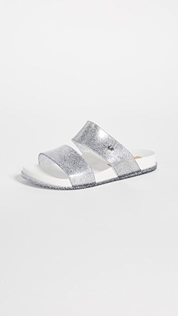 Melissa Cosmic Double Strap Sandals
