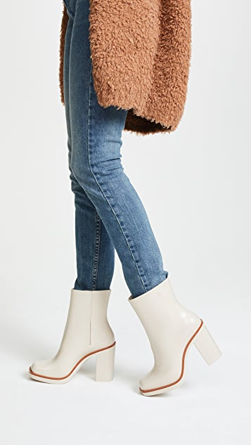 Melissa Classic Chunky Heel Boots