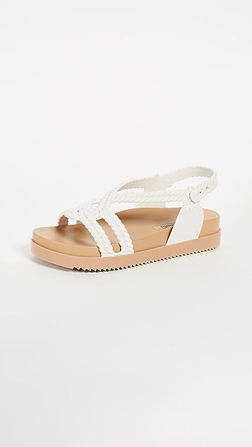 Melissa Cosmic + Salinas Sandals