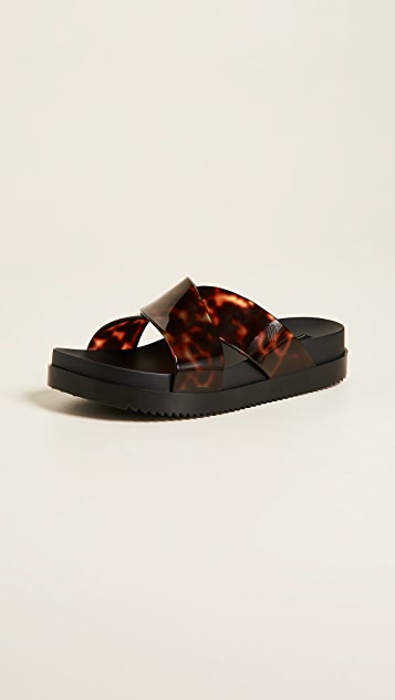 Melissa Cosmic II Criss Cross Slides