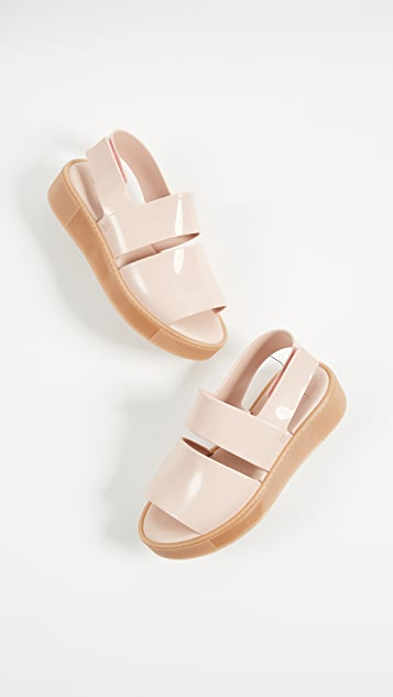 Soho Platform Sandals by Melissa