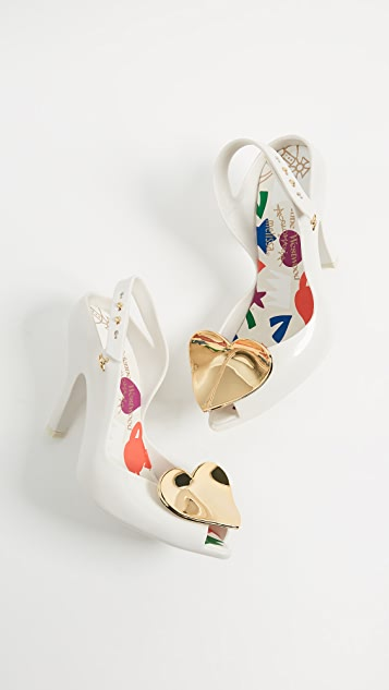 Melissa x Vivienne Westwood Lady Dragon Pumps