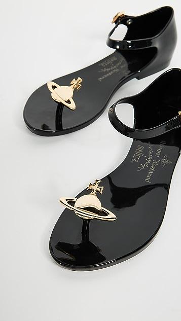 Melissa x Vivienne Westwood Honey Sandals