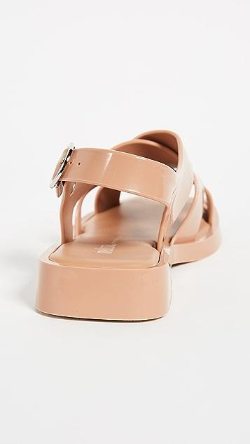 Melissa Melrose Flat Sandals