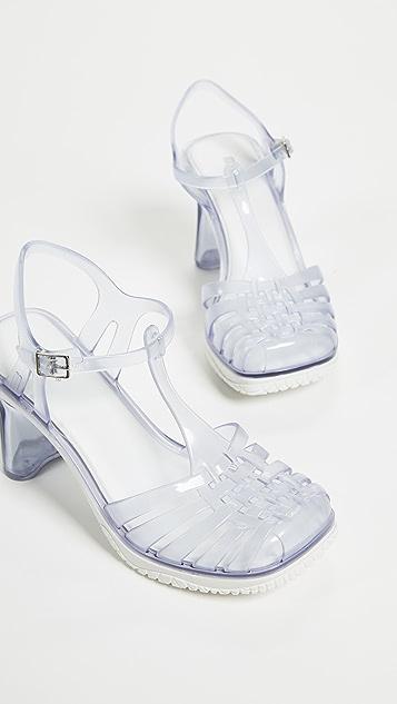 Melissa Vixen Strappy Sandals