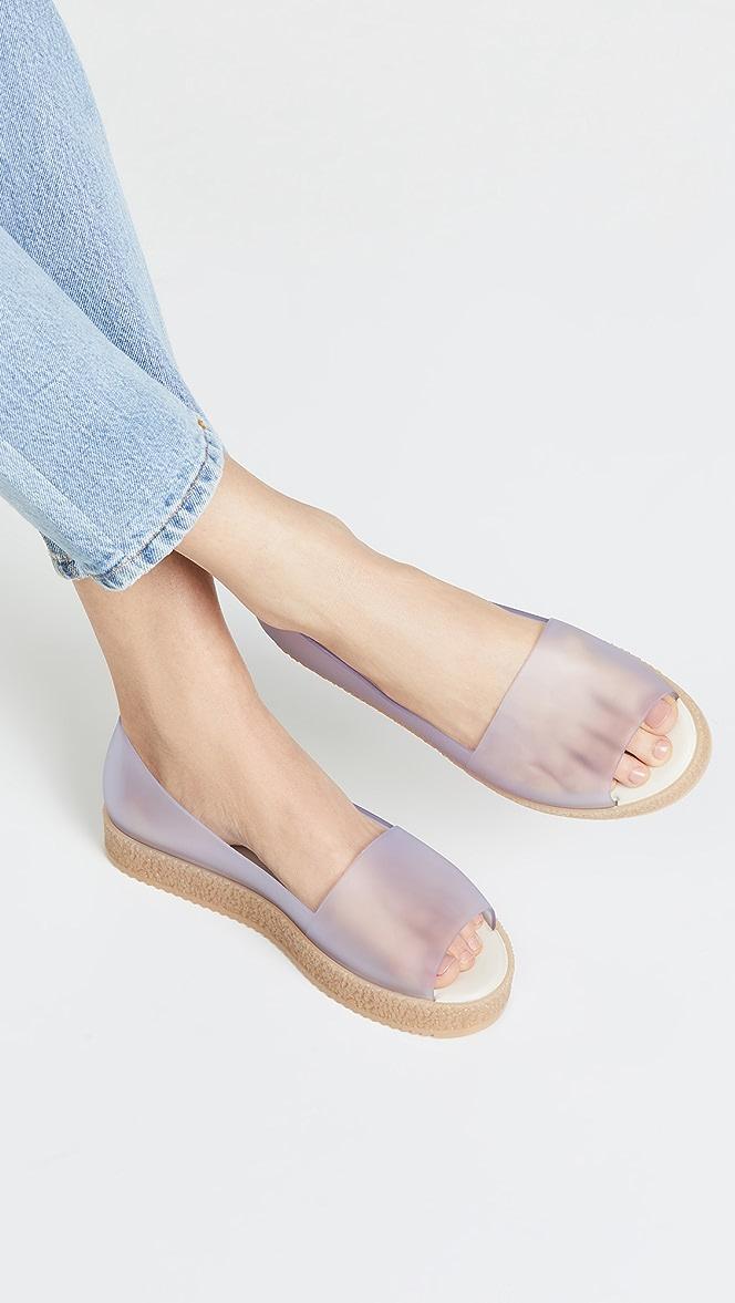 Melissa Puzzle Peep Toe Flats   SHOPBOP
