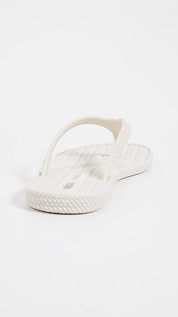 Melissa x Salinas Summer Flip Flops